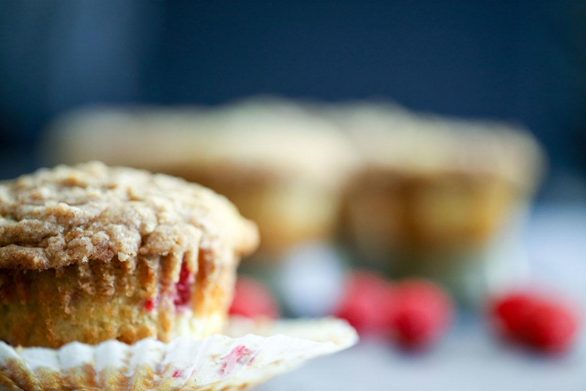 Raspberry Cheesecake Muffin Unwrapped