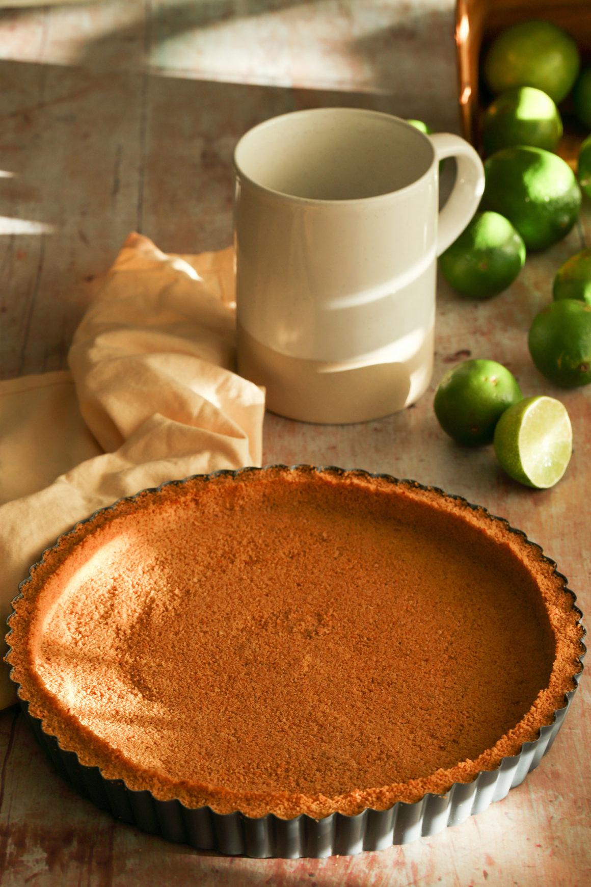 Coconut Macadamia Nut Tart Crust