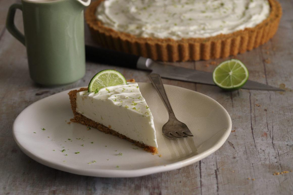 Ginger Lime Tart Slice