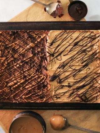 No-Bake Chocolate Peanut Butter Oatmeal Bars