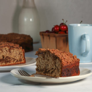 Chocolate Espresso Banana Cake