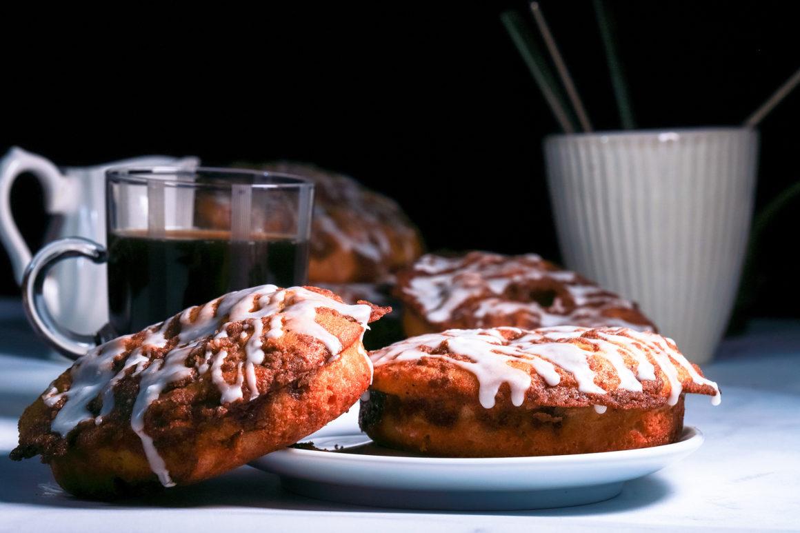 Doughnuts with Coffee