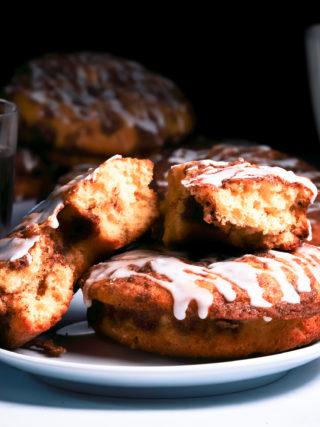 Coffee Cake Doughnuts