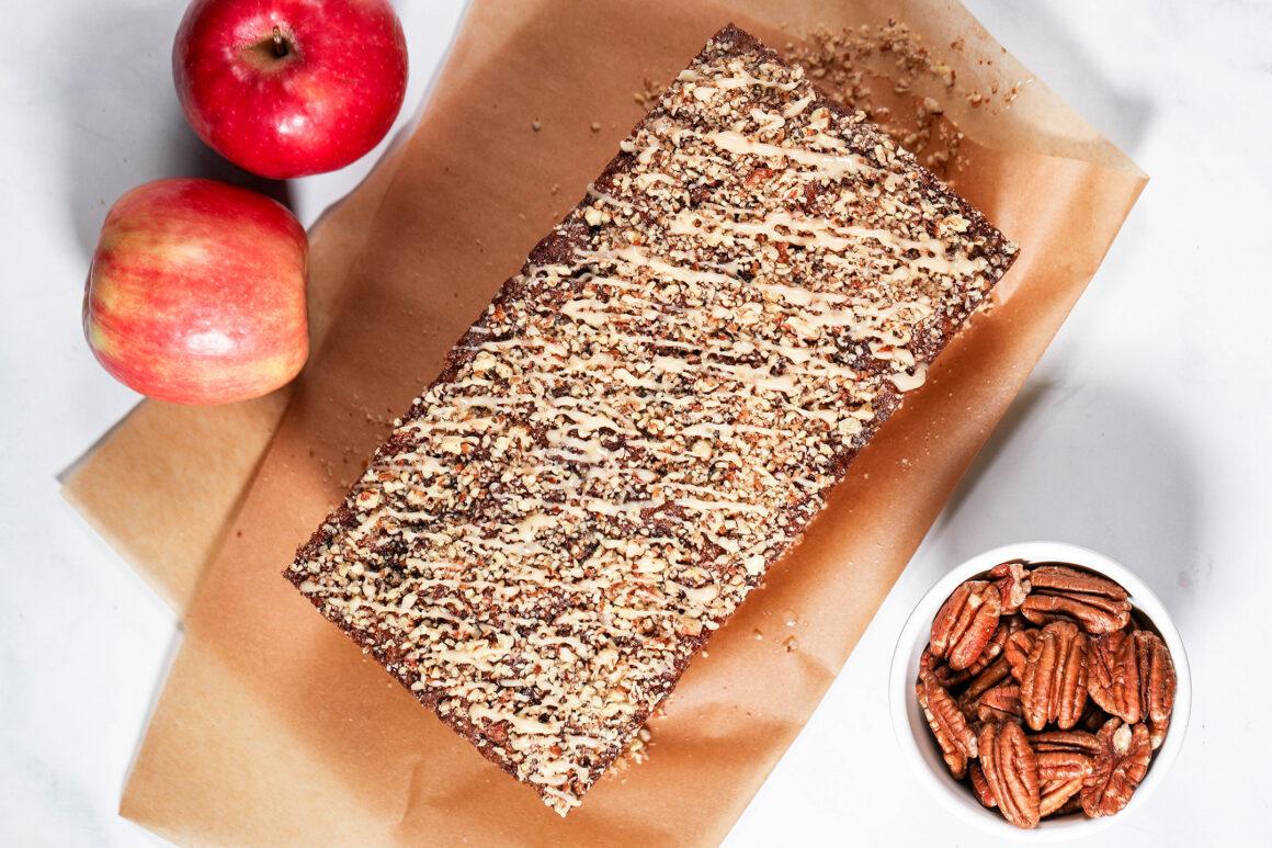Glazed Apple-Bread