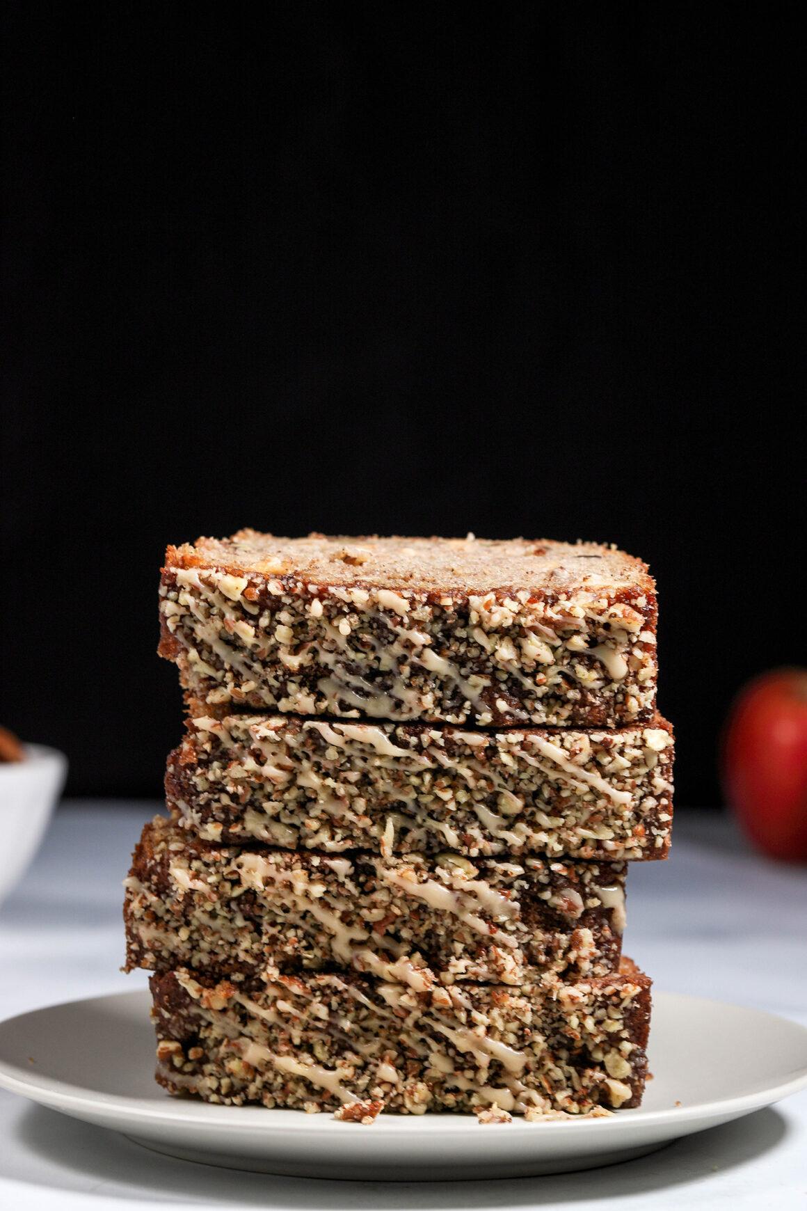 Apple-Bread Stack