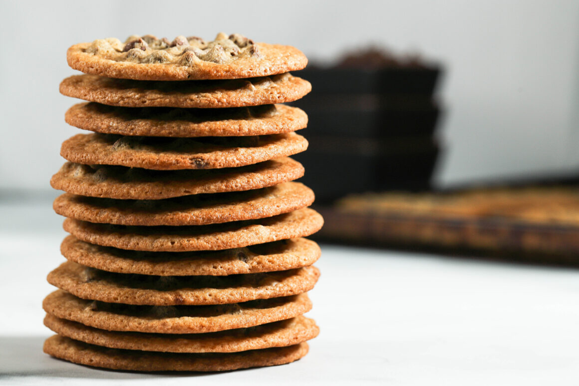Chocolate Chip Cookies Stack