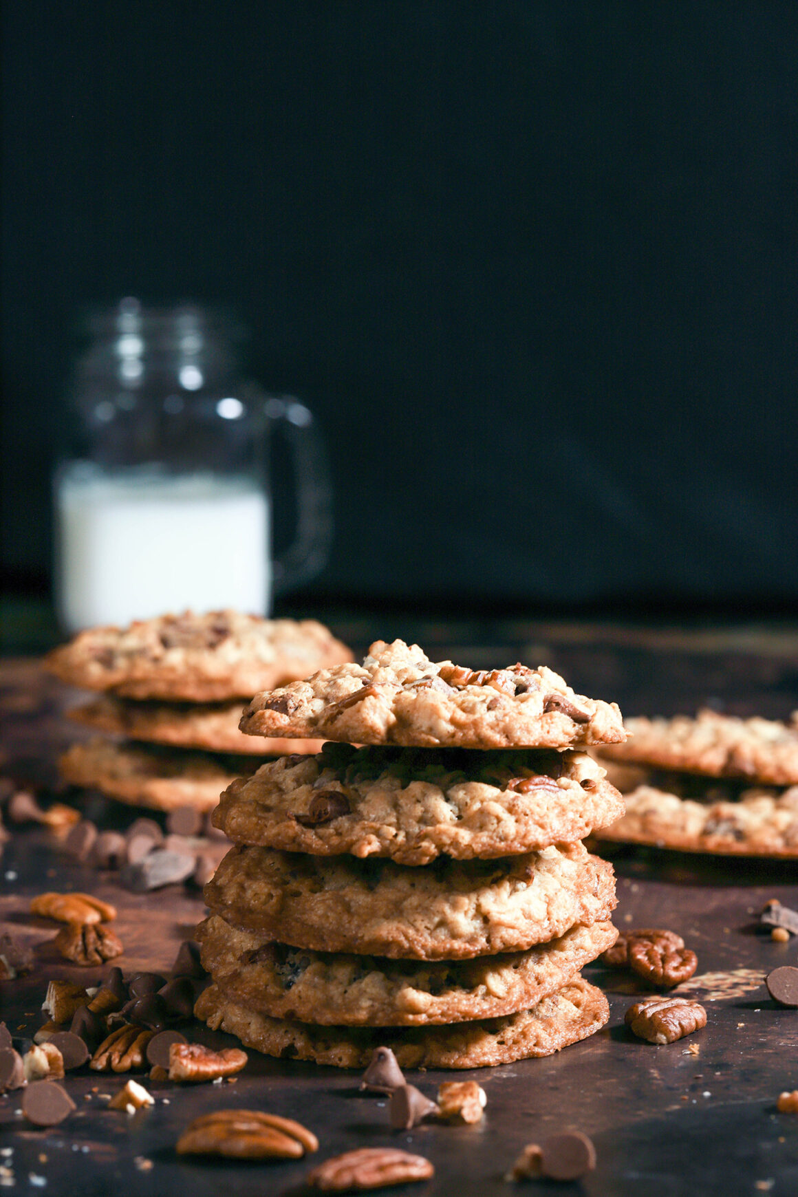 Oatmeal Cookies with Pecans