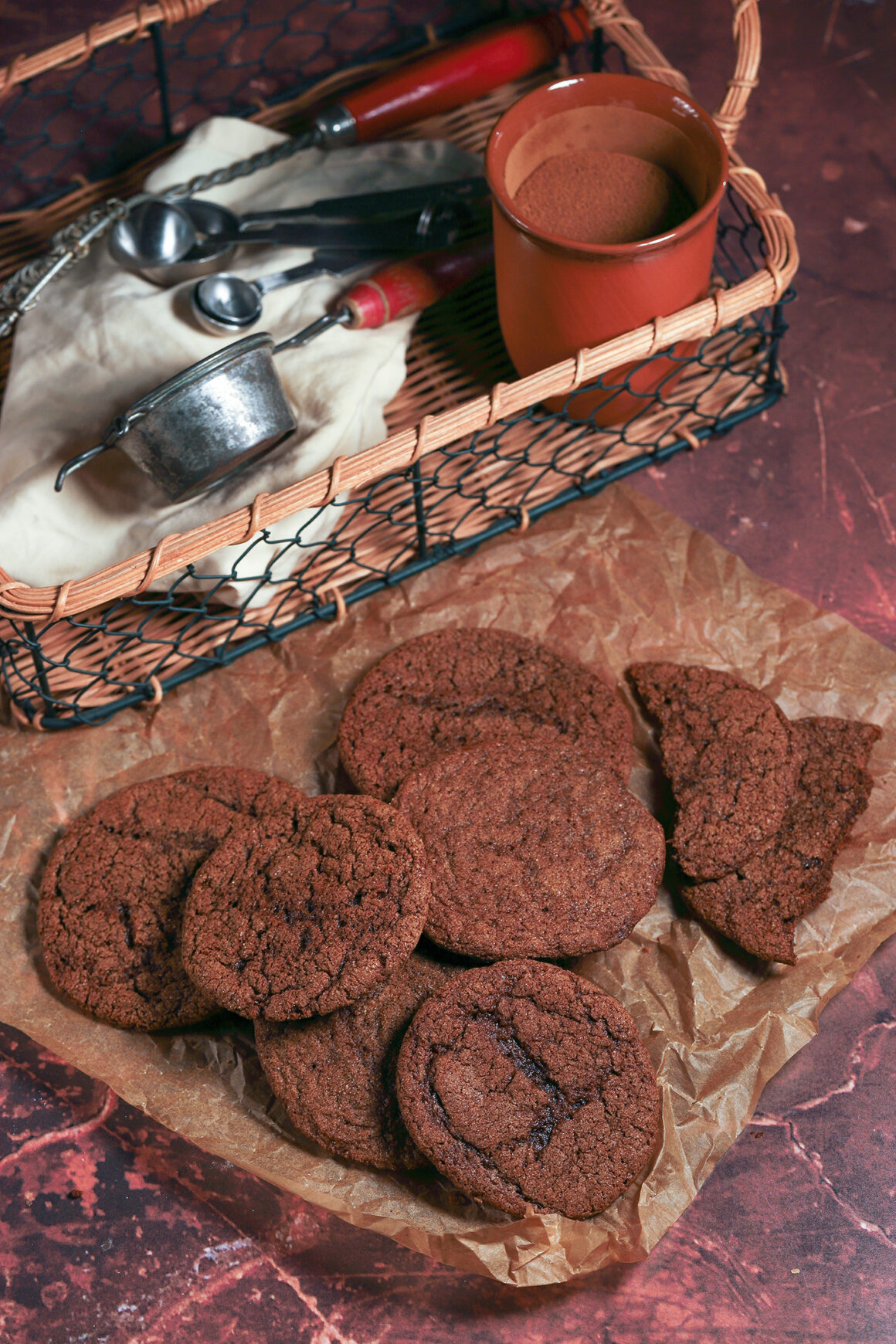 Gingersnaps After Baking