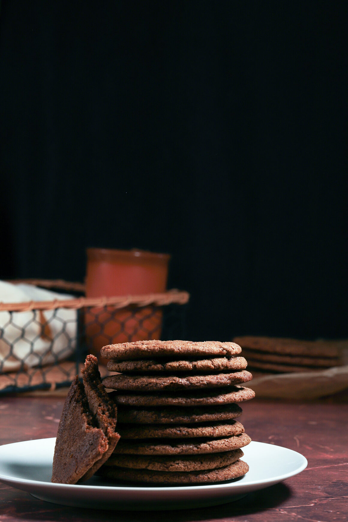 Stack of Gingersnaps
