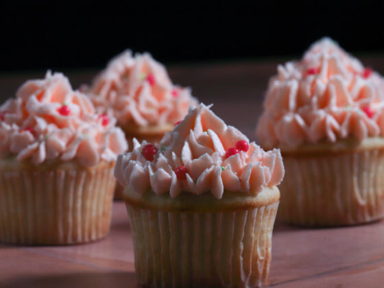 Orange-Cupcakes with Orange Buttercream