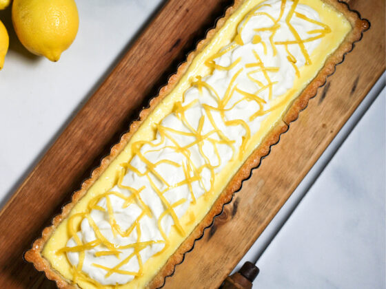 Lemon Mascarpone Tart