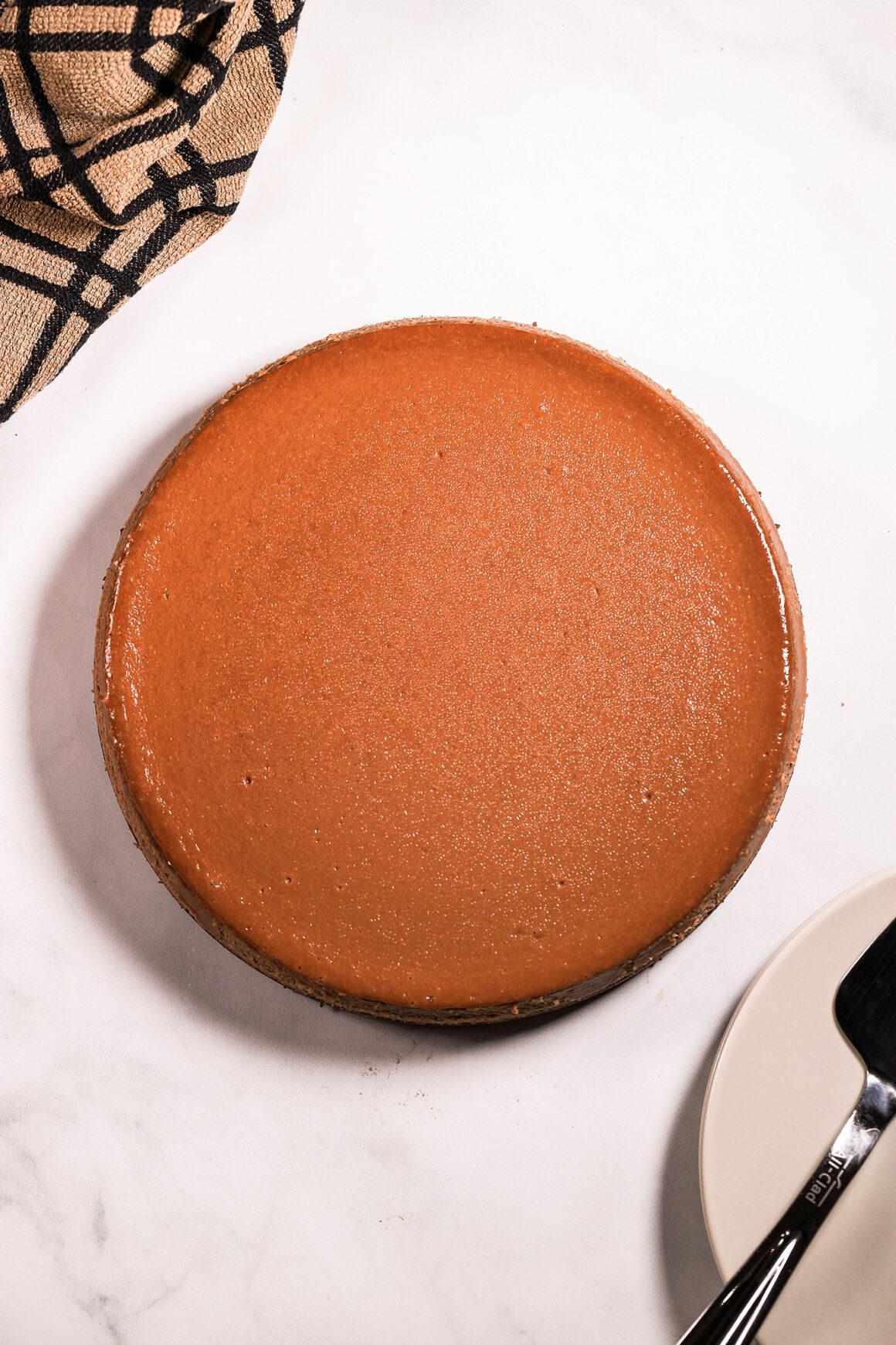 Whole Mocha Cheesecake