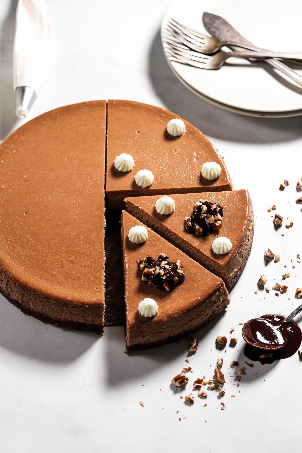 Mocha Cheesecake Garnish