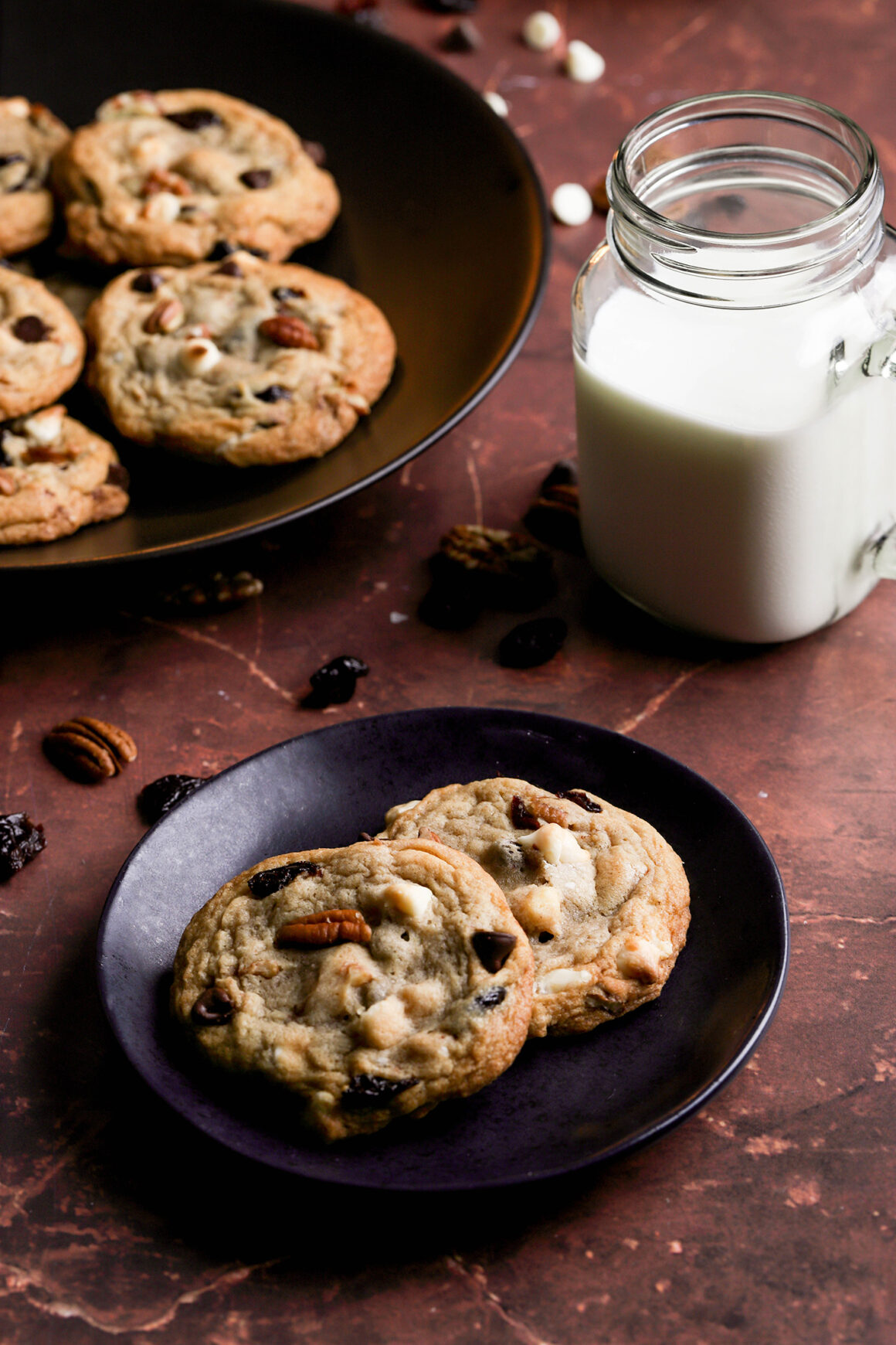 dried cherry chocolate chip cookies