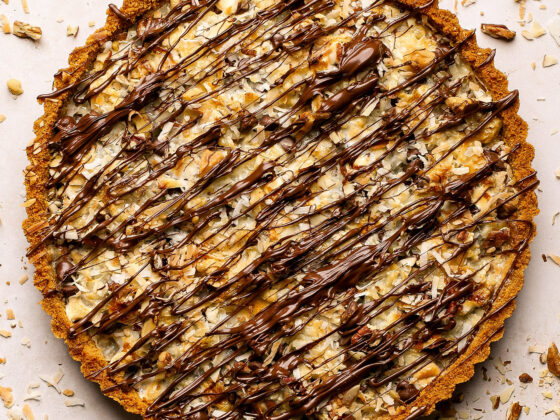candy bar tart