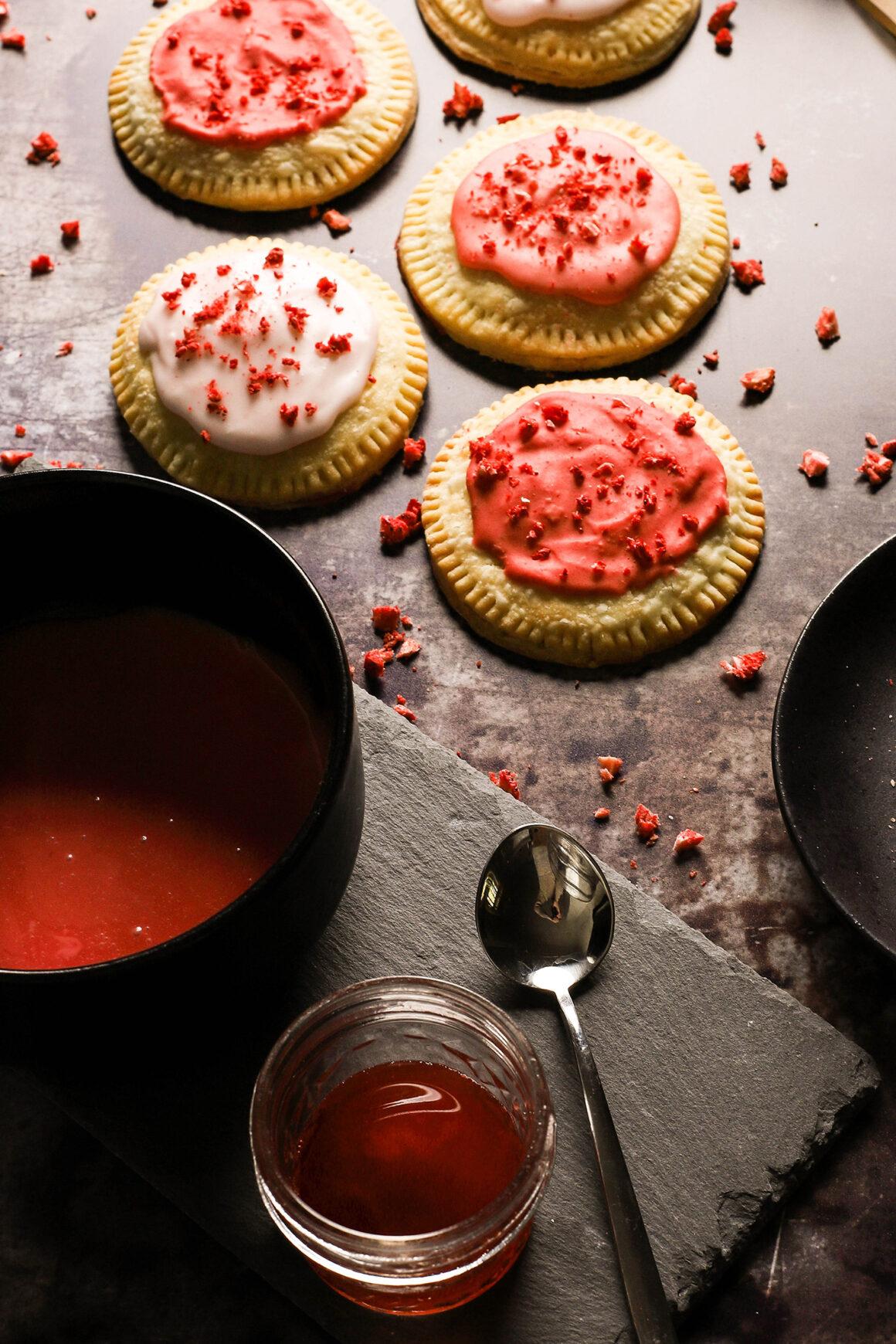 glazed strawberry hand pies3