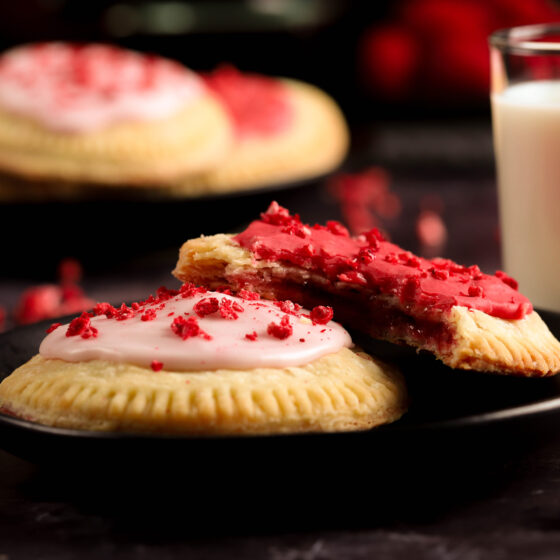 roasted strawberry pop tarts