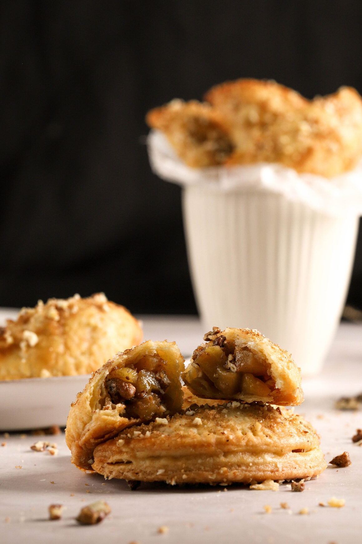 delicious hot mini apple pie