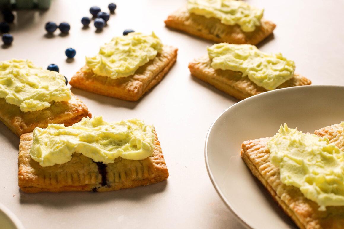 lemon blueberry pop tarts