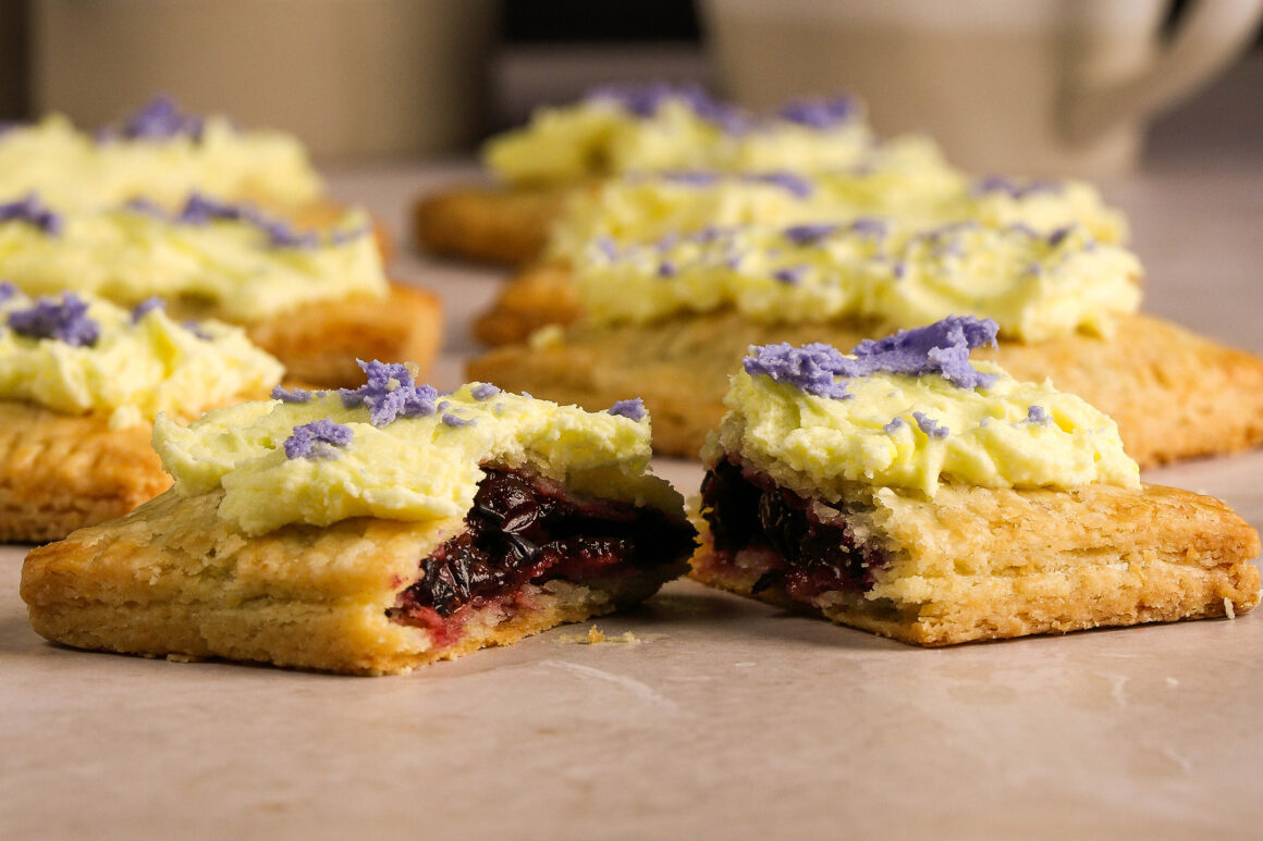 lemon blueberry frosted pop tarts-pop-tarts