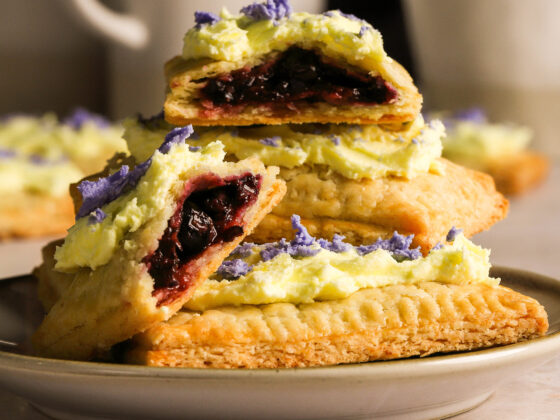 blueberry pop tarts