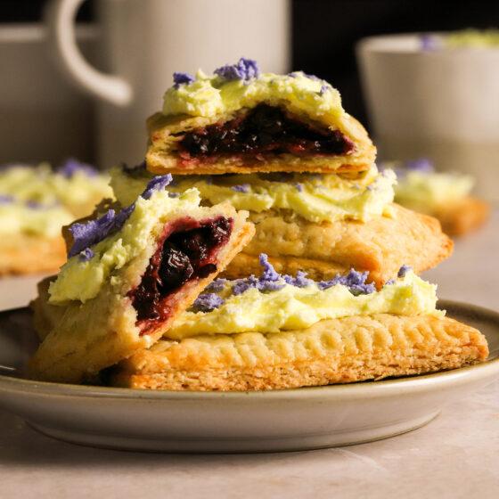blueberry pop tarts