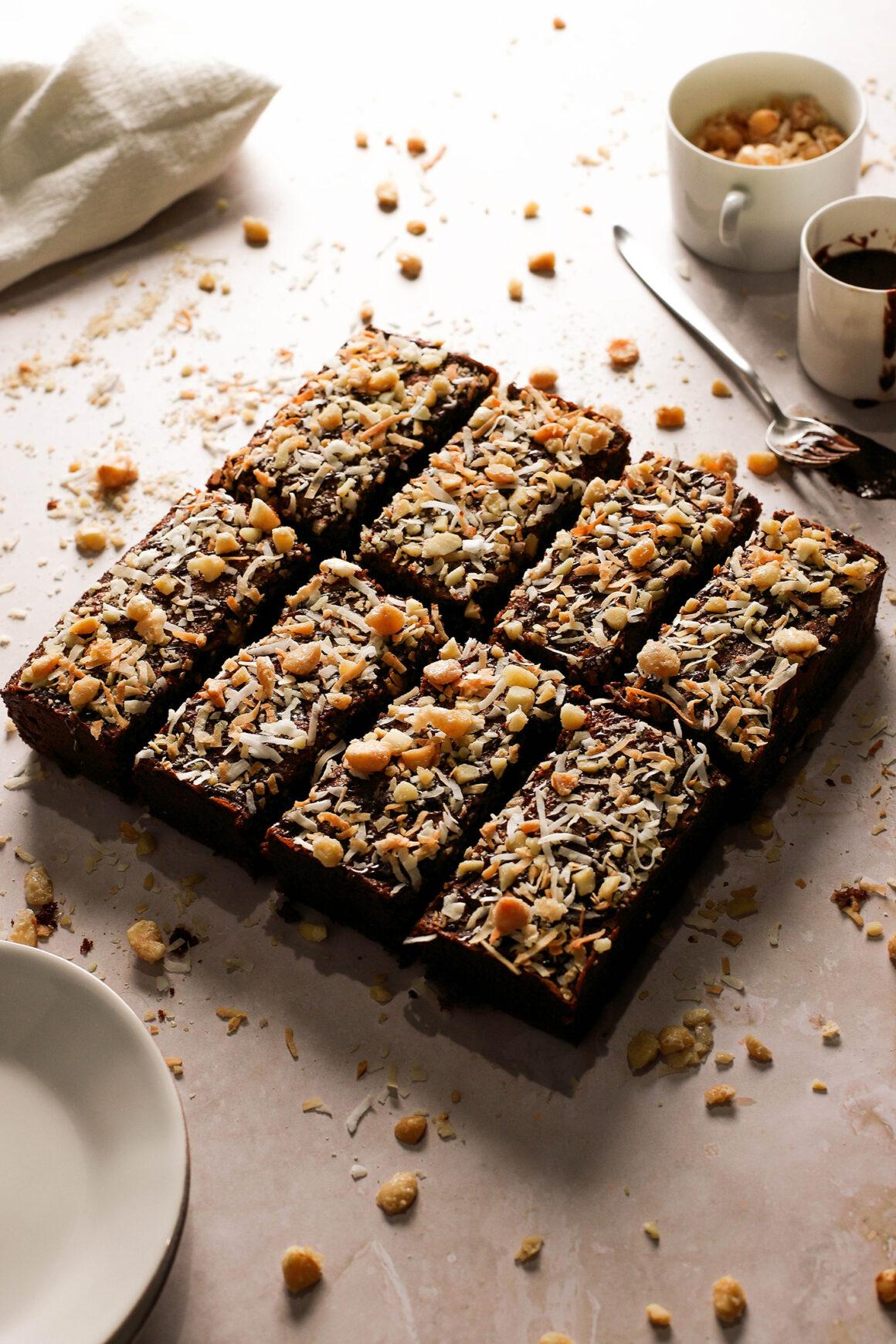brownie dessert bars
