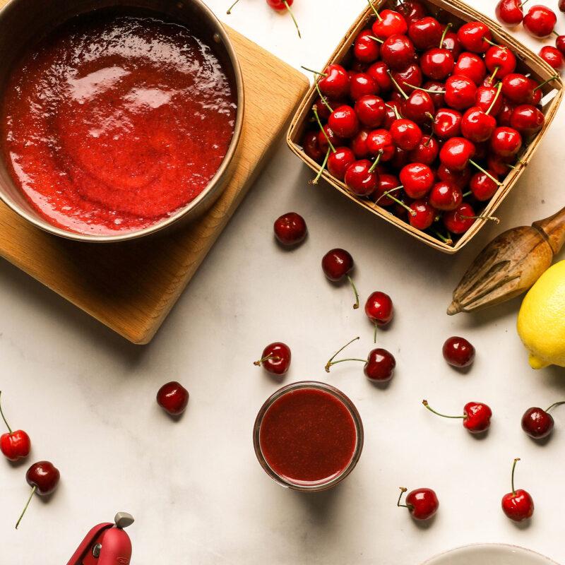 cherry puree